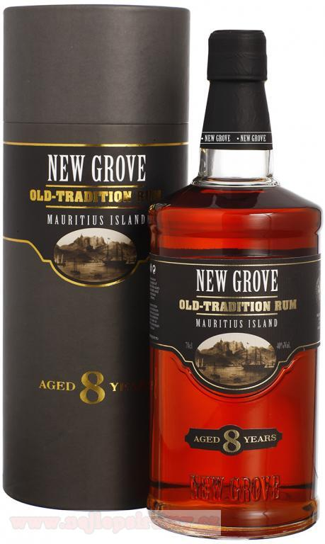 New Grove old 8y 40% 0.7L