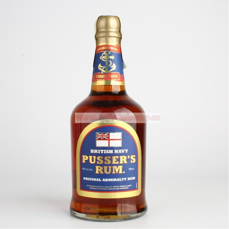 Pussers British Navy 0.7L 40%