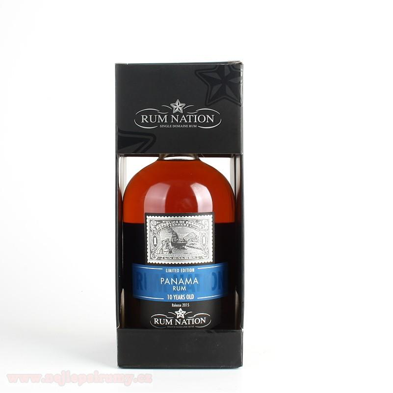 Rum Nation Panama 10y 0.7L 40%