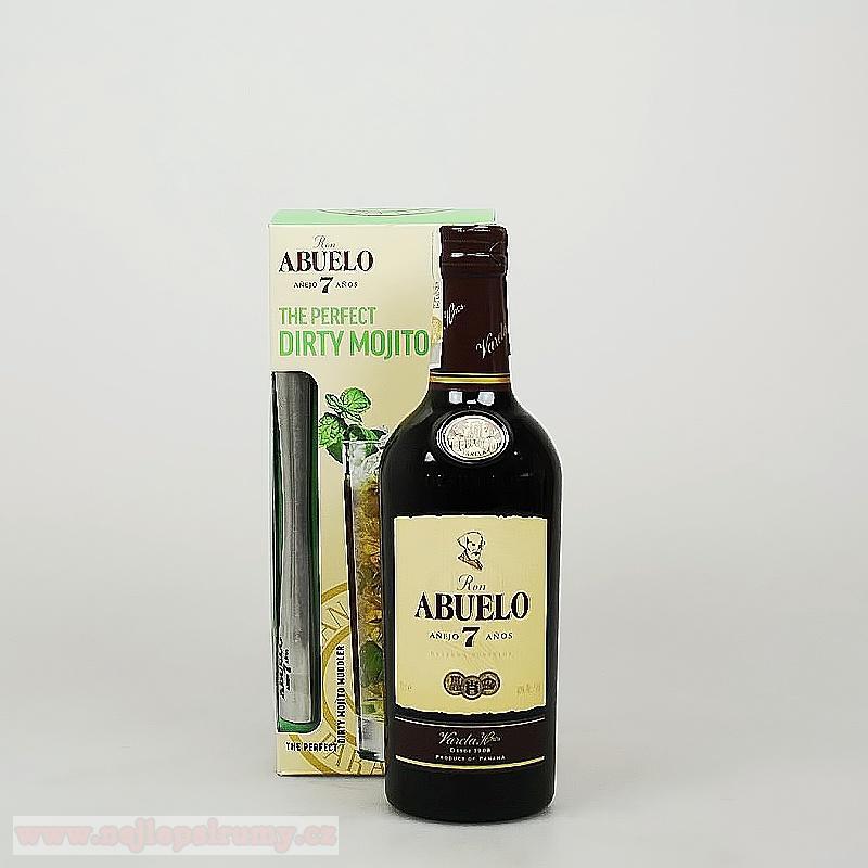 Abuelo 7y 0.7L 40% + muddler (Abuelo 7y 0.7L 40% + muddler)