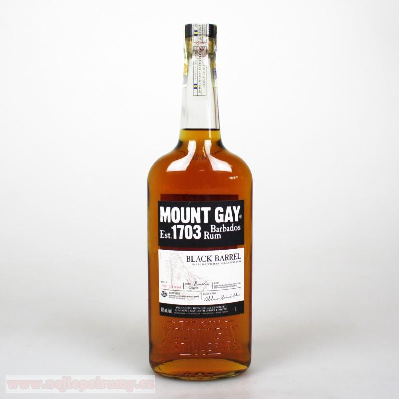 Mount Gay 1703 Black Barrel 1L 43%