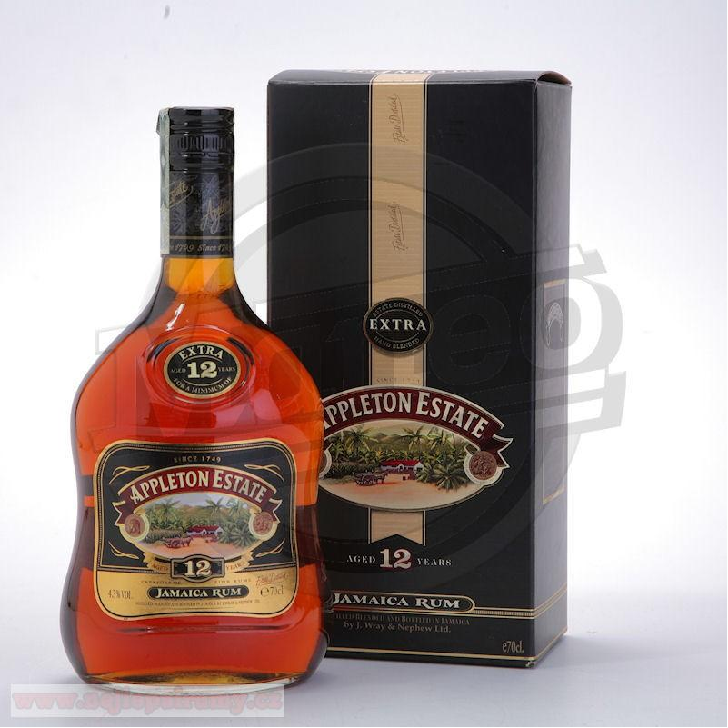 Appleton Estate Rare Blend 12 yo 0,7L 43%