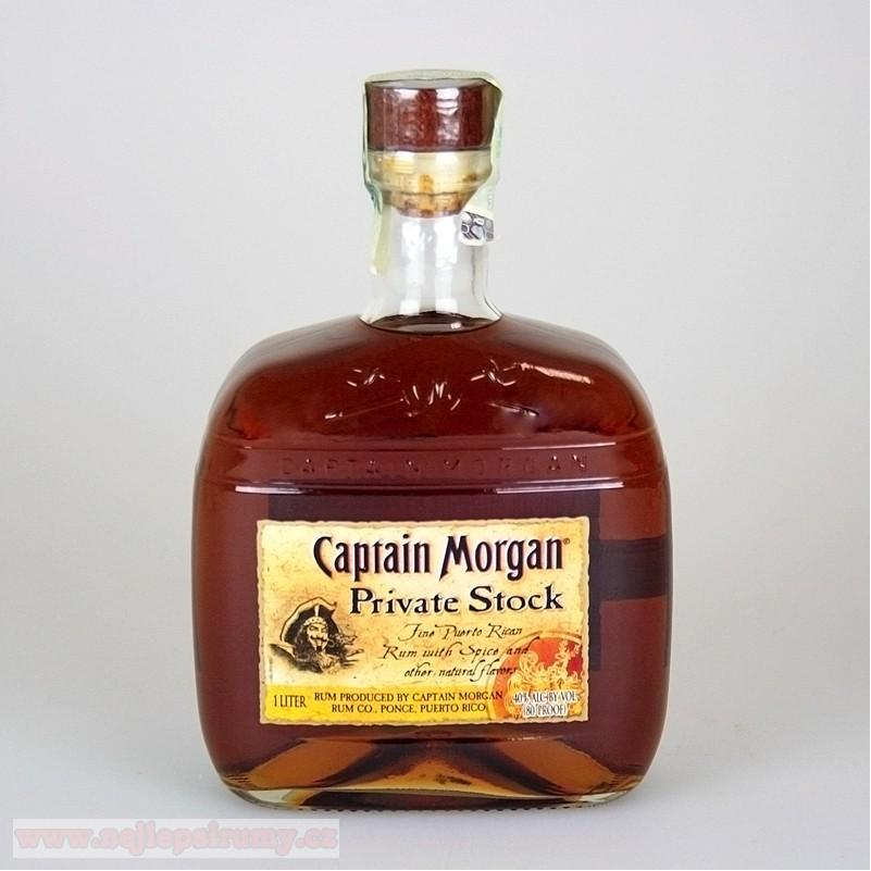 Capt.Morgan Private Stock 1L 40%