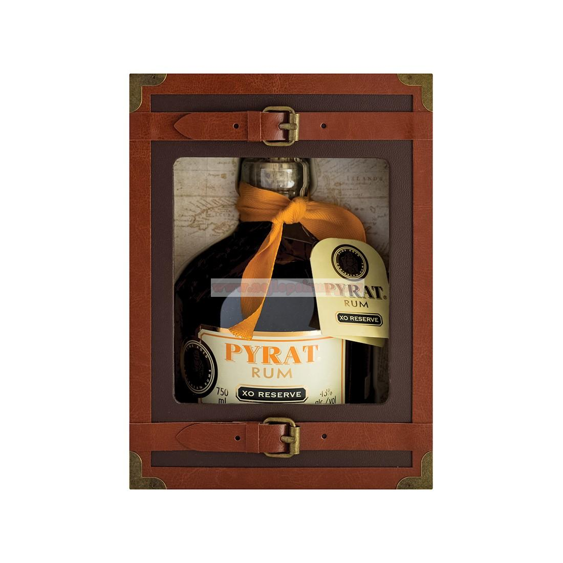 Pyrat XO Reserve 0.7L 40% limited edition suitcase