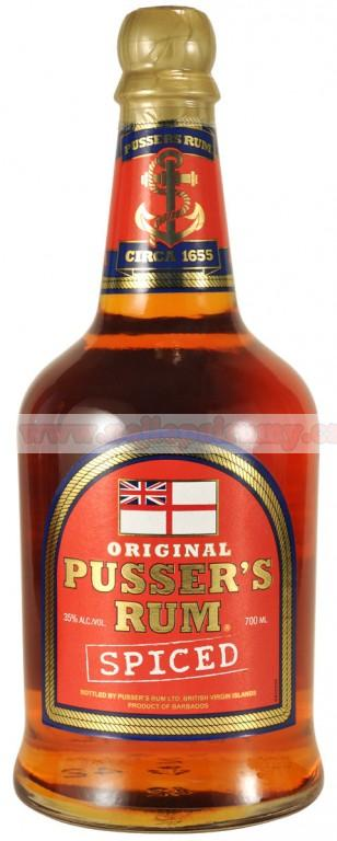 Pussers Spiced 0,7l 35%