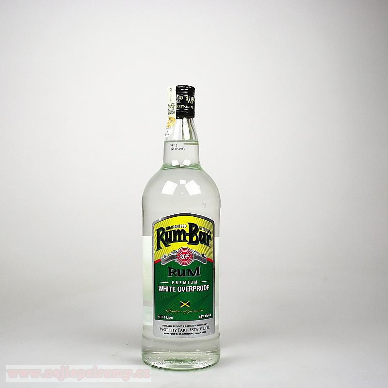 Rum-Bar White Overproof 1L 65%